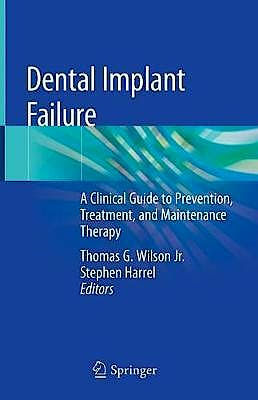Portada del libro 9783030188948 Dental Implant Failure. A Clinical Guide to Prevention, Treatment and Maintenance Therapy