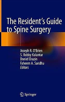 Portada del libro 9783030208462 The Resident's Guide to Spine Surgery