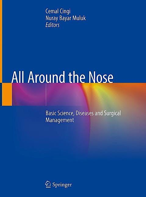 Portada del libro 9783030212162 All Around the Nose. Basic Science, Diseases and Surgical Management