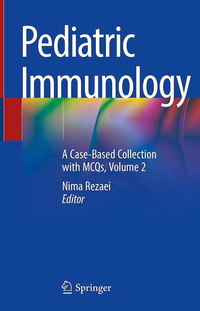 Portada del libro 9783030212643 Pediatric Immunology. A Case-Based Collection with MCQs, Volume 2 (Softcover)