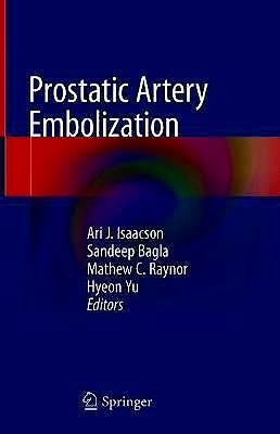 Portada del libro 9783030234706 Prostatic Artery Embolization (Hardcover)