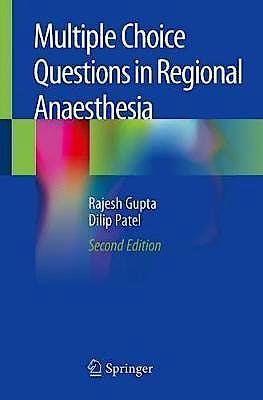 Portada del libro 9783030236076 Multiple Choice Questions in Regional Anaesthesia