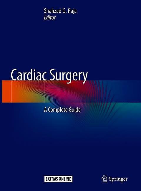 Portada del libro 9783030241735 Cardiac Surgery. A Complete Guide