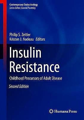 Portada del libro 9783030250553 Insulin Resistance. Childhood Precursors of Adult Disease (Contemporary Endocrinology)