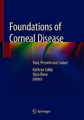 Portada del libro 9783030253349 Foundations of Corneal Disease. Past, Present and Future