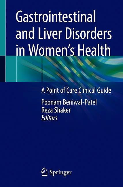 Portada del libro 9783030256258 Gastrointestinal and Liver Disorders in Women's Health. A Point of Care Clinical Guide