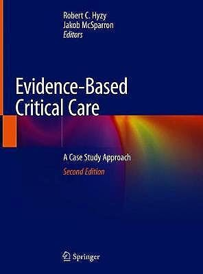 Portada del libro 9783030267094 Evidence-Based Critical Care. A Case Study Approach