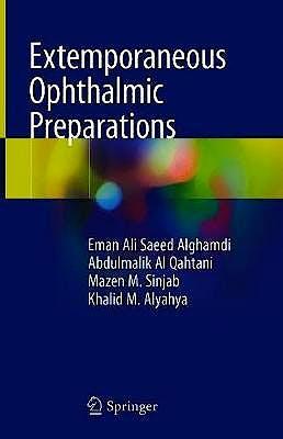 Portada del libro 9783030274917 Extemporaneous Ophthalmic Preparations