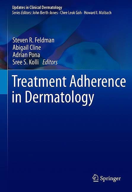 Portada del libro 9783030278083 Treatment Adherence in Dermatology (Hardcover)