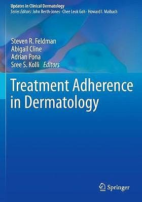 Portada del libro 9783030278113 Treatment Adherence in Dermatology (Softcover)