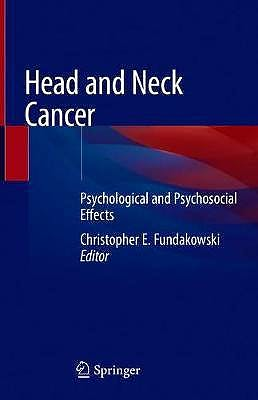 Portada del libro 9783030278809 Head and Neck Cancer. Psychological and Psychosocial Effects