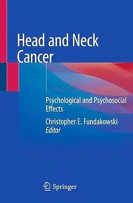 Portada del libro 9783030278830 Head and Neck Cancer. Psychological and Psychosocial Effects