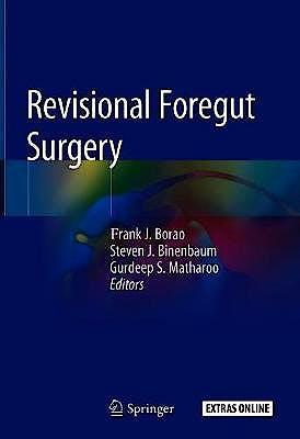 Portada del libro 9783030282721 Revisional Foregut Surgery + Extras Online