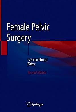 Portada del libro 9783030283186 Female Pelvic Surgery