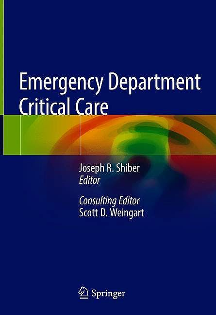 Portada del libro 9783030287924 Emergency Department Critical Care