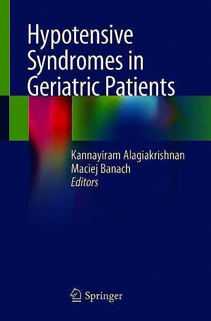 Portada del libro 9783030303310 Hypotensive Syndromes in Geriatric Patients