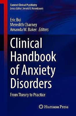 Portada del libro 9783030306861 Clinical Handbook of Anxiety Disorders. From Theory to Practice