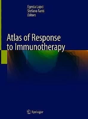 Portada del libro 9783030311124 Atlas of Response to Immunotherapy