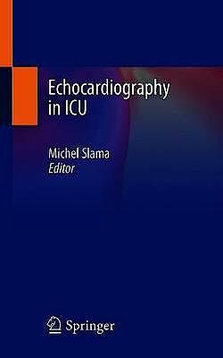 Portada del libro 9783030322182 Echocardiography in ICU