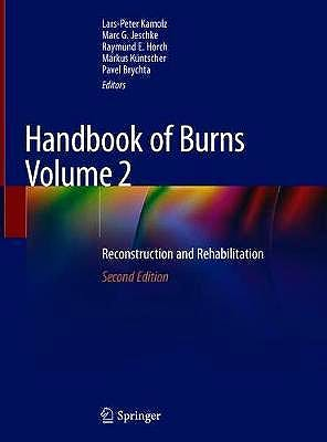 Portada del libro 9783030345105 Handbook of Burns Volume 2: Reconstruction and Rehabilitation