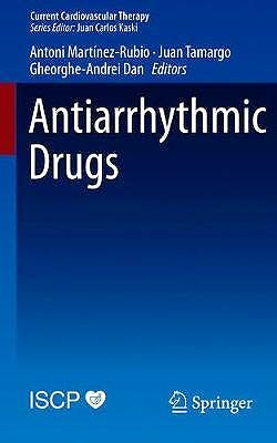Portada del libro 9783030348915 Antiarrhythmic Drugs (Current Cardiovascular Therapy)