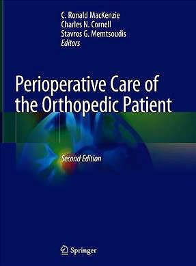 Portada del libro 9783030355692 Perioperative Care of the Orthopedic Patient