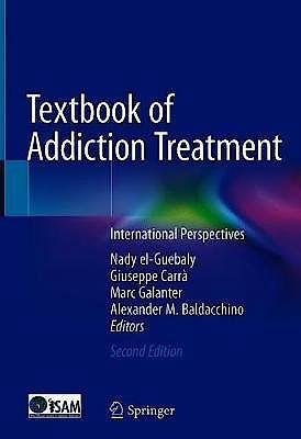 Portada del libro 9783030363901 Textbook of Addiction Treatment. International Perspectives