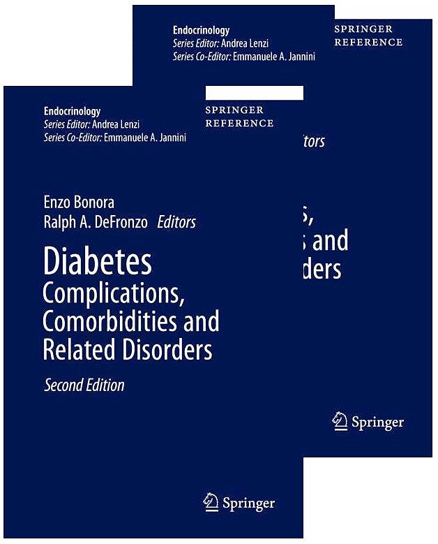 Portada del libro 9783030366933 Diabetes Complications, Comorbidities and Related Disorders, 2 Vols.
