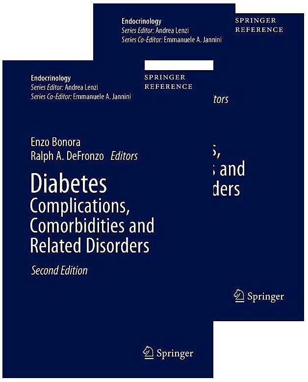 Portada del libro 9783030366957 Diabetes Complications, Comorbidities and Related Disorders, 2 Vols. (Print + eBook)