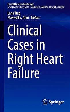 Portada del libro 9783030386610 Clinical Cases in Right Heart Failure (Clinical Cases in Cardiology)