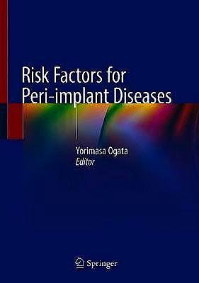 Portada del libro 9783030391843 Risk Factors for Peri-implant Diseases