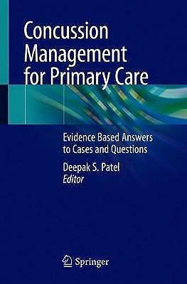 Portada del libro 9783030395810 Concussion Management for Primary Care. Evidence Based Answers to Cases and Questions