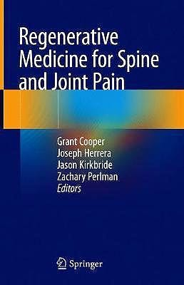 Portada del libro 9783030427702 Regenerative Medicine for Spine and Joint Pain