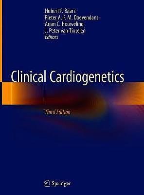 Portada del libro 9783030454562 Clinical Cardiogenetics