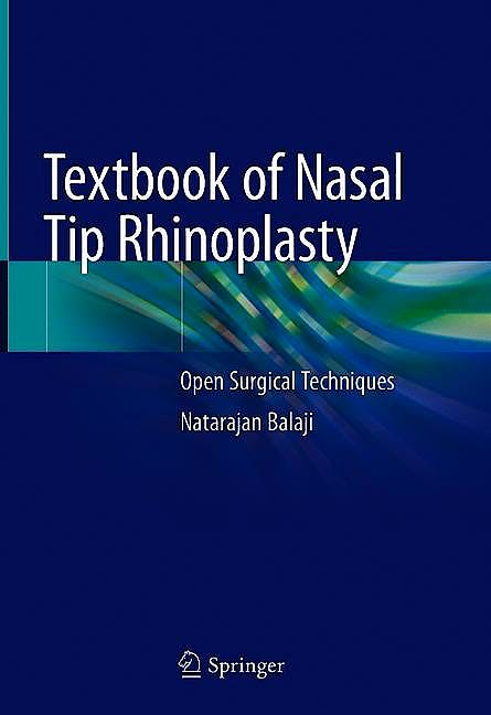 Portada del libro 9783030481568 Textbook of Nasal Tip Rhinoplasty. Open Surgical Techniques
