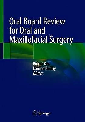 Portada del libro 9783030488796 Oral Board Review for Oral and Maxillofacial Surgery