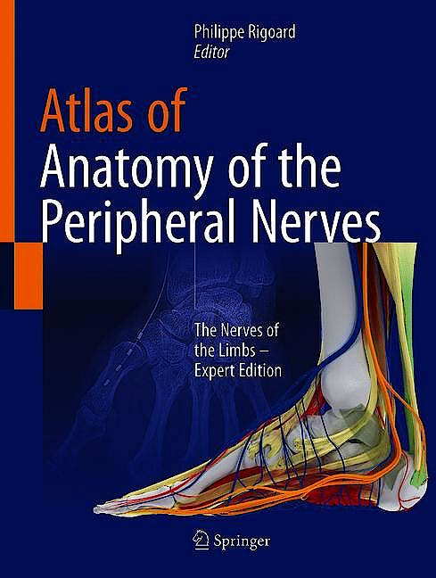 Portada del libro 9783030491789 Atlas of Anatomy of the Peripheral Nerves. The Nerves of the Limbs. Expert Edition