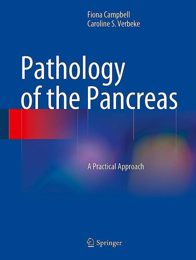 Portada del libro 9783030498474 Pathology of the Pancreas. A Practical Approach