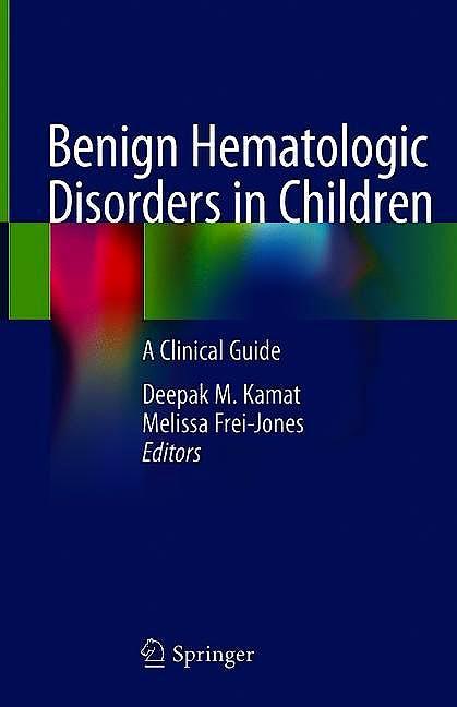 Portada del libro 9783030499792 Benign Hematologic Disorders in Children. A Clinical Guide