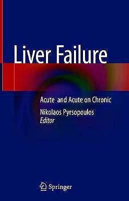 Portada del libro 9783030509828 Liver Failure. Acute and Acute on Chronic
