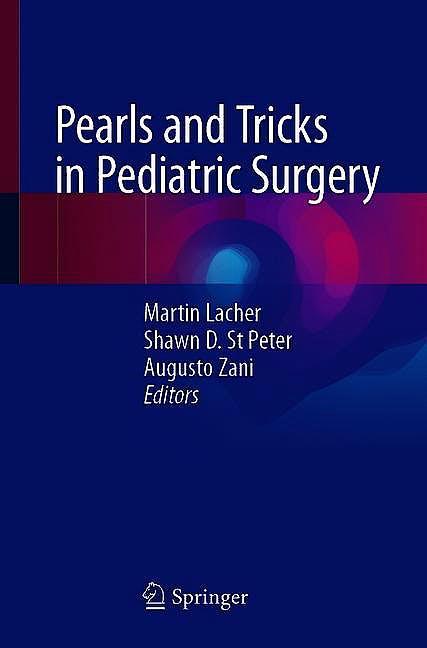 Portada del libro 9783030510664 Pearls and Tricks in Pediatric Surgery