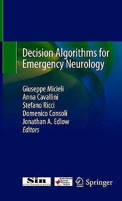 Portada del libro 9783030512750 Decision Algorithms for Emergency Neurology
