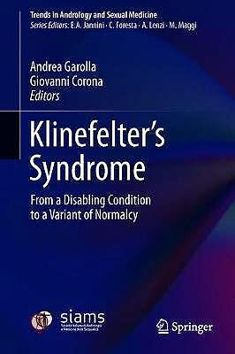 Portada del libro 9783030514099 Klinefelter's Syndrome. From a Disabling Condition to a Variant of Normalcy
