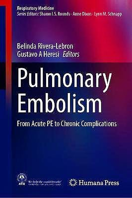 Portada del libro 9783030517359 Pulmonary Embolism. From Acute PE to Chronic Complications