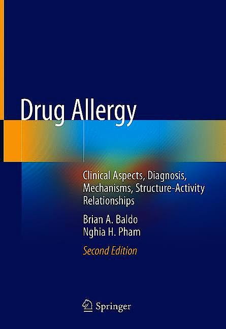 Portada del libro 9783030517397 Drug Allergy. Clinical Aspects, Diagnosis, Mechanisms, Structure-Activity Relationships