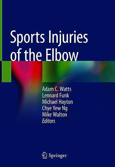 Portada del libro 9783030523787 Sports Injuries of the Elbow