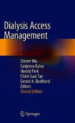Portada del libro 9783030529932 Dialysis Access Management