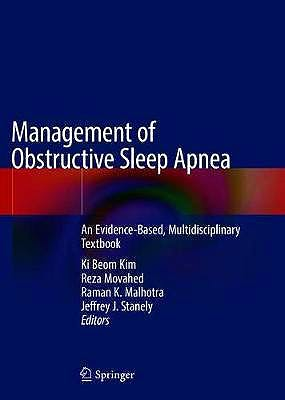 Portada del libro 9783030541453 Management of Obstructive Sleep Apnea. An Evidence-Based, Multidisciplinary Textbook