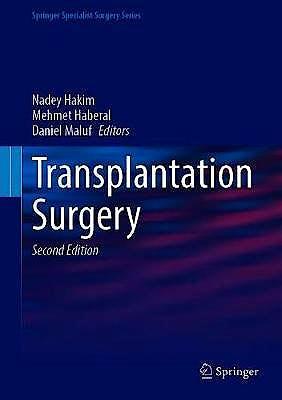 Portada del libro 9783030552435 Transplantation Surgery (Springer Specialist Surgery)