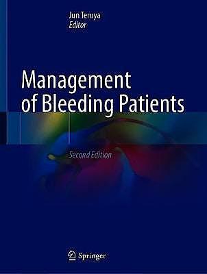 Portada del libro 9783030563370 Management of Bleeding Patients
